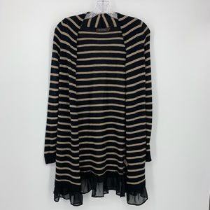 The Limited Striped Cardigan Size XL